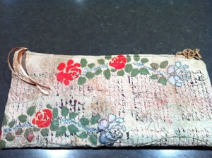 Card wallet for Tracey and Gez
