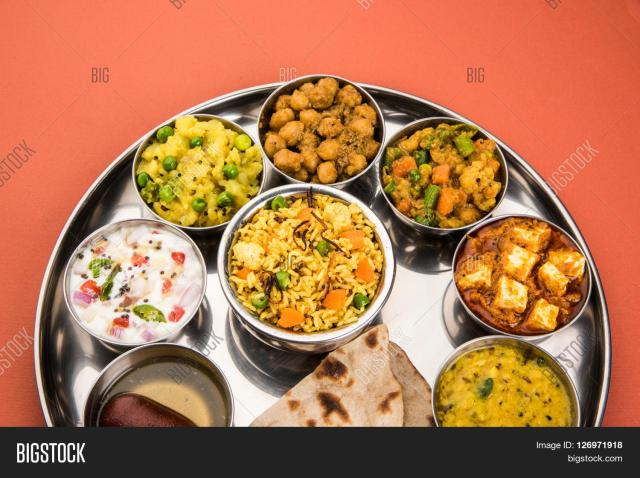 Thali meal Bigstock photo