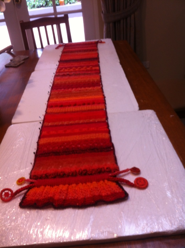 Red-orange scarf - 1 (1)