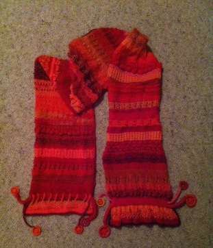 Red-orange scarf - 1 (9)