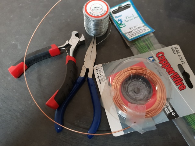 CQG wrapped armature wires, wire cutters and pliers